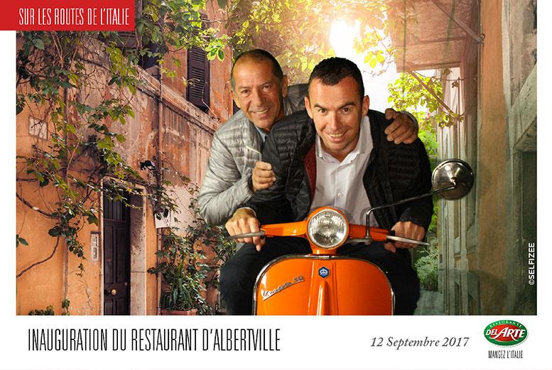 Animation inauguration restaurant Albertville près de Grenoble