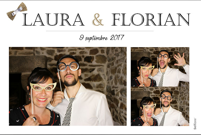 Photobooth mariage en multishoot