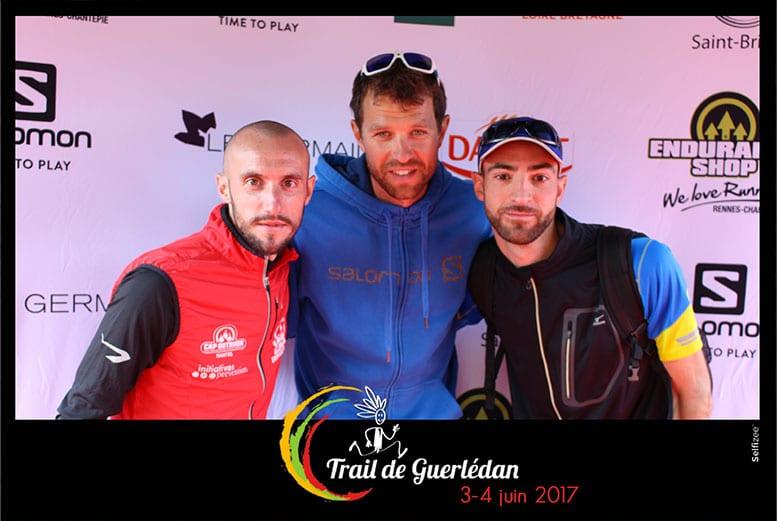 Photocall événenemnt sportif trail avec François d'Haène