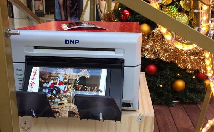 Imprimante déportée photographe