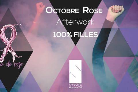 Soirée pour Octobre Rose avec la borne photo selfie Slefizee pour la boîte de nuit La Suite à Rennes