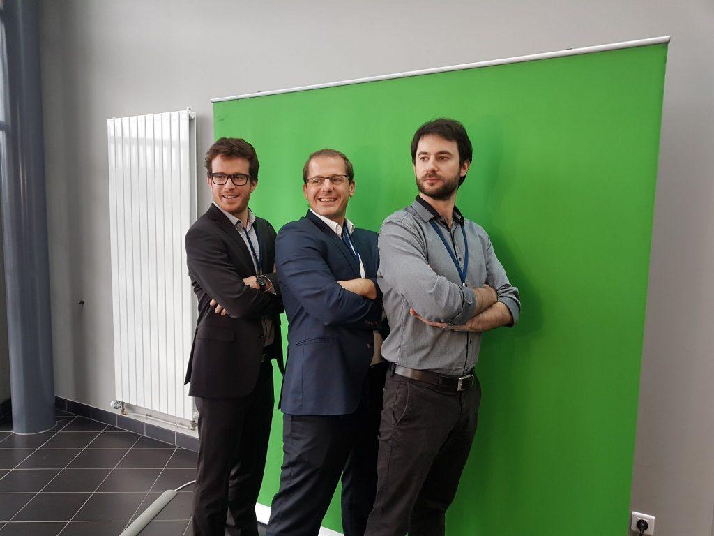 Animation fond vert pour l'Innovation's Day d'Angers organisé par le groupe Vinci