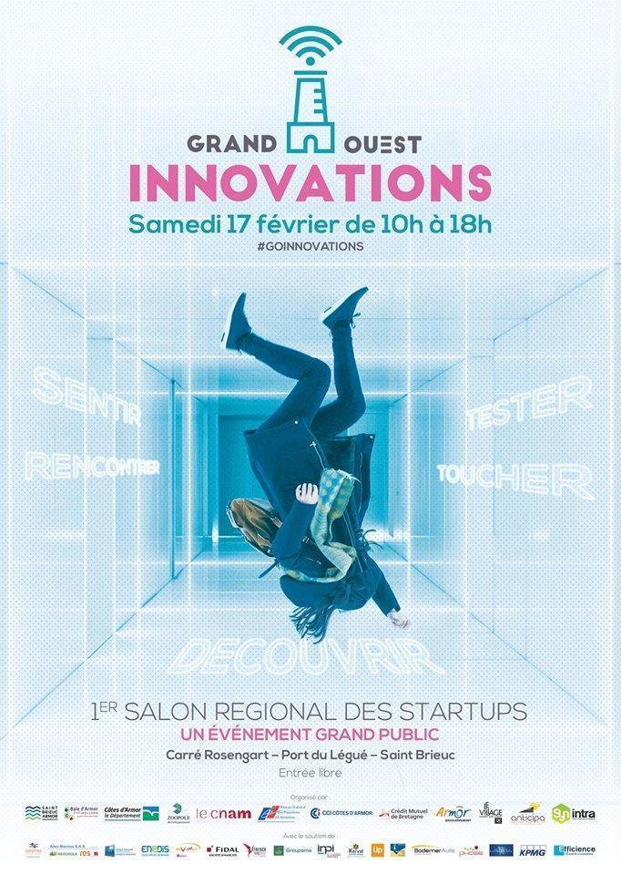 Selfizee présent au premier salon régional des startups de Grand Ouest Innovations