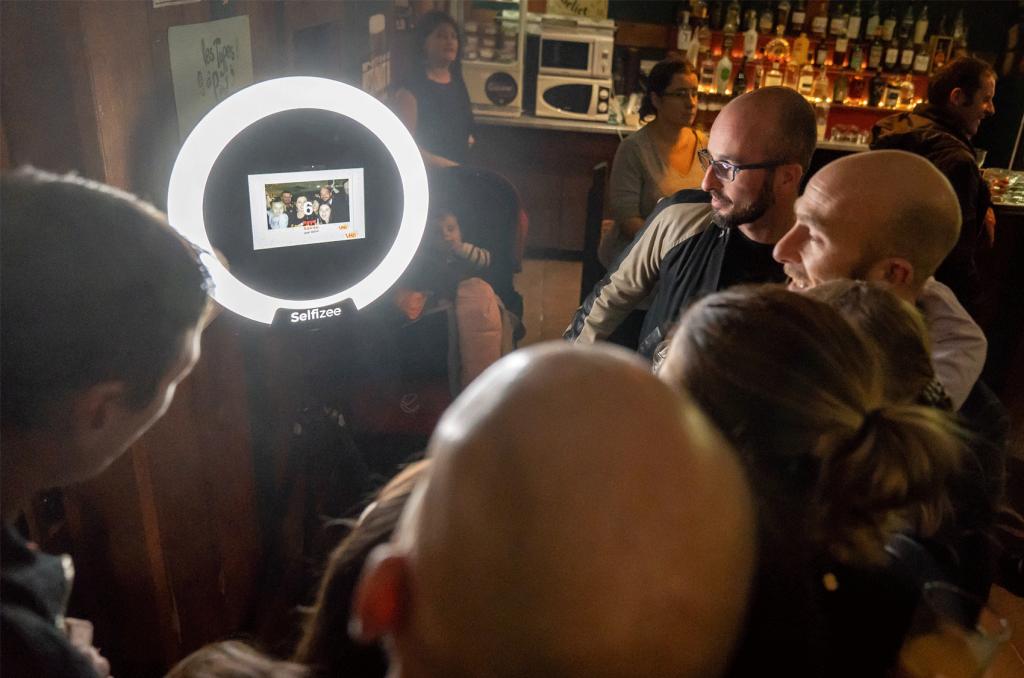 Animation Photobooth avec la nouvelle borne Spherik de Selfizee