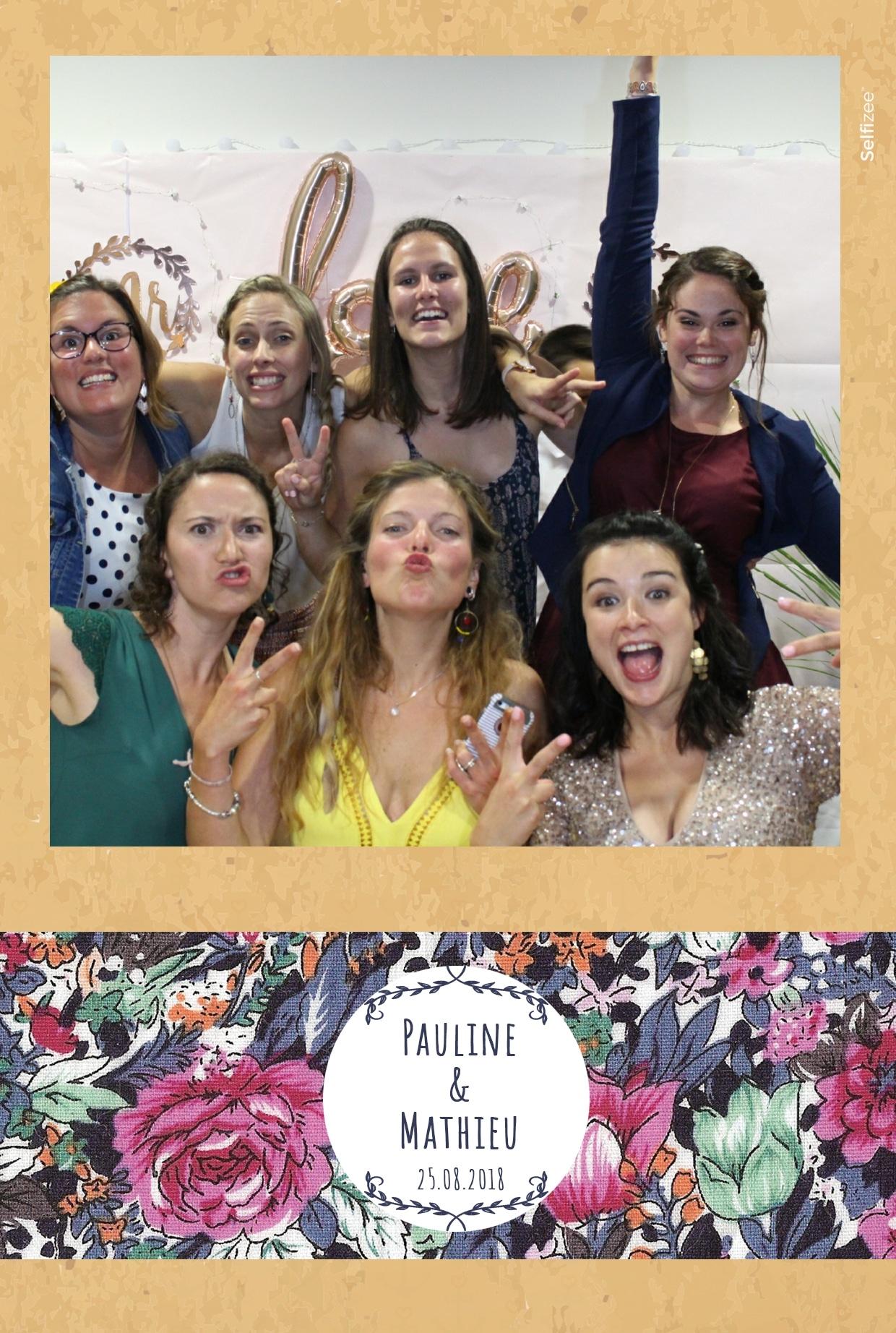 Animation borne selfie avec impressions photos immédiates - box photo à louer pour fête mariage à Brest ou dans le Finistère