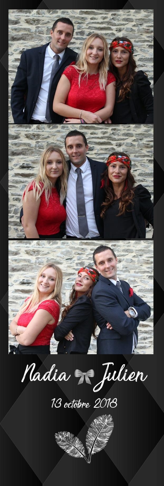 Animation photobooth mariage Caen - borne selfie à louer pour mariage Caen / Calvados avec impressions photos
