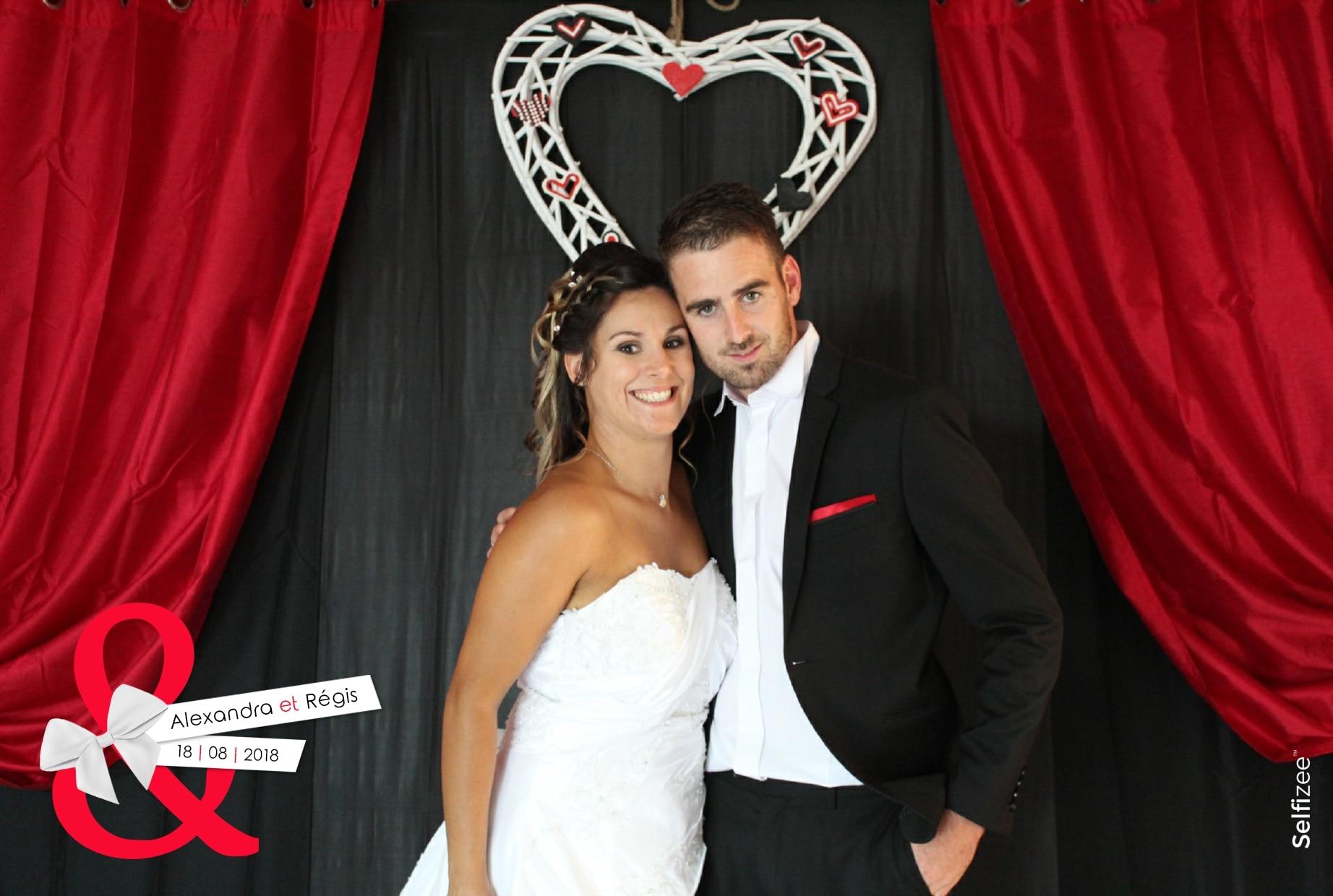 Borne photo et selfie personnalisé pour mariage à Vannes et dans le Morbihan