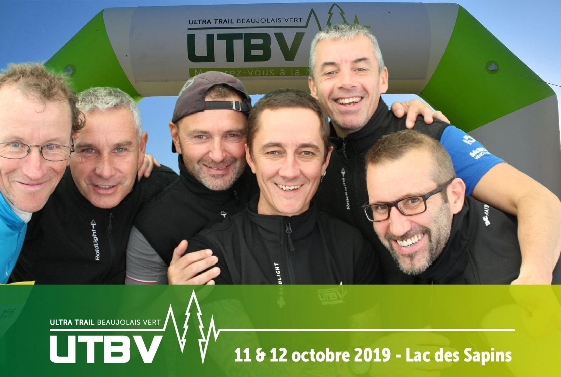 Borne photo animation selfie à l'Urban Trail Beaujolais Vert 2019 au lac des sapins dans le Rhône pour les participants et visiteurs