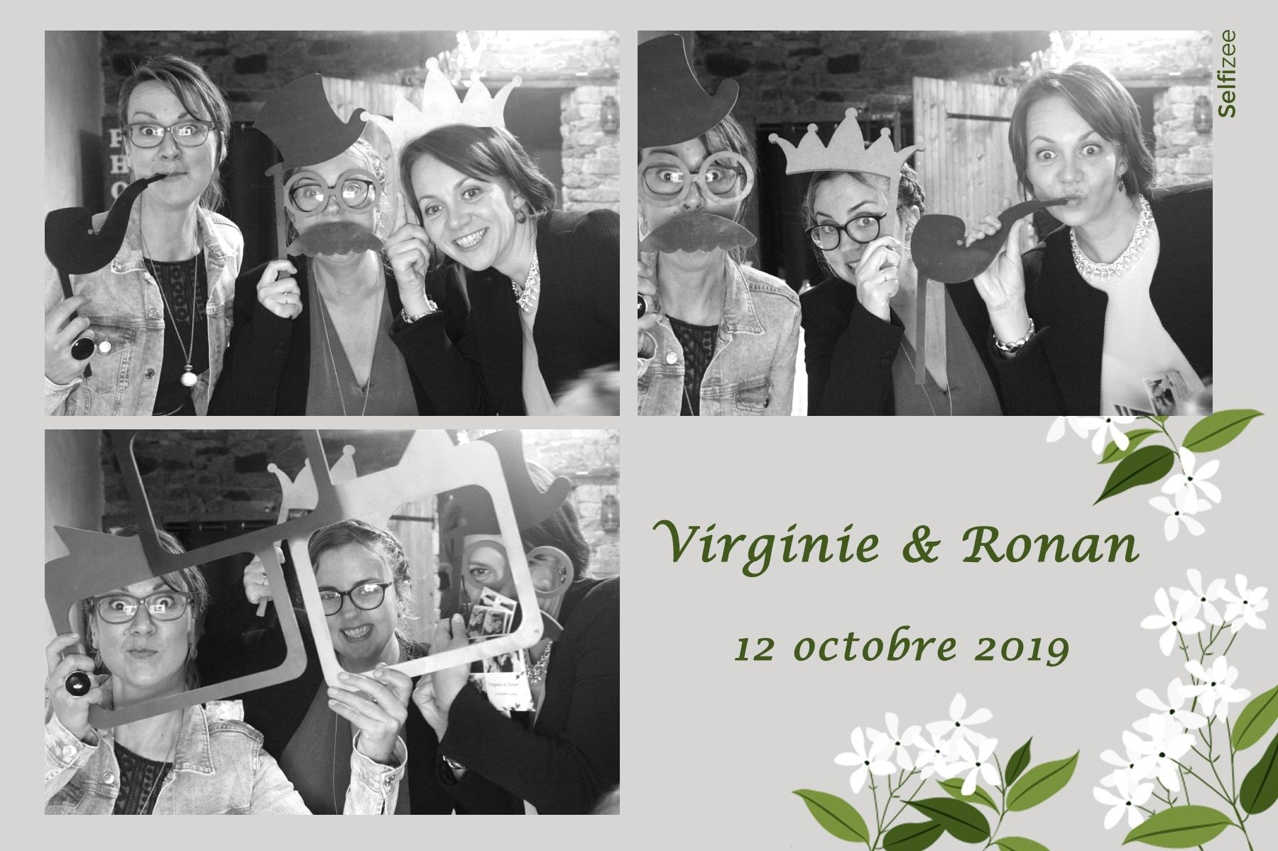 Selfie mariage à Concarneau avec photobooth à louer dans le Finistère pour animer mariage