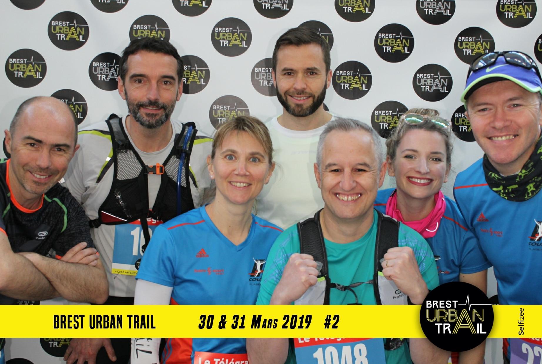 Animation photocall et selfie box au Brest Urban Trail 2019 pour les participants des courses ou visiteurs