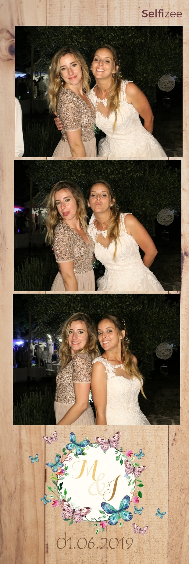 Photo mariage personnalisée et animation photobooth Cannes - location borne selfie mariage à Cannes et dans les Alpes Maritimes