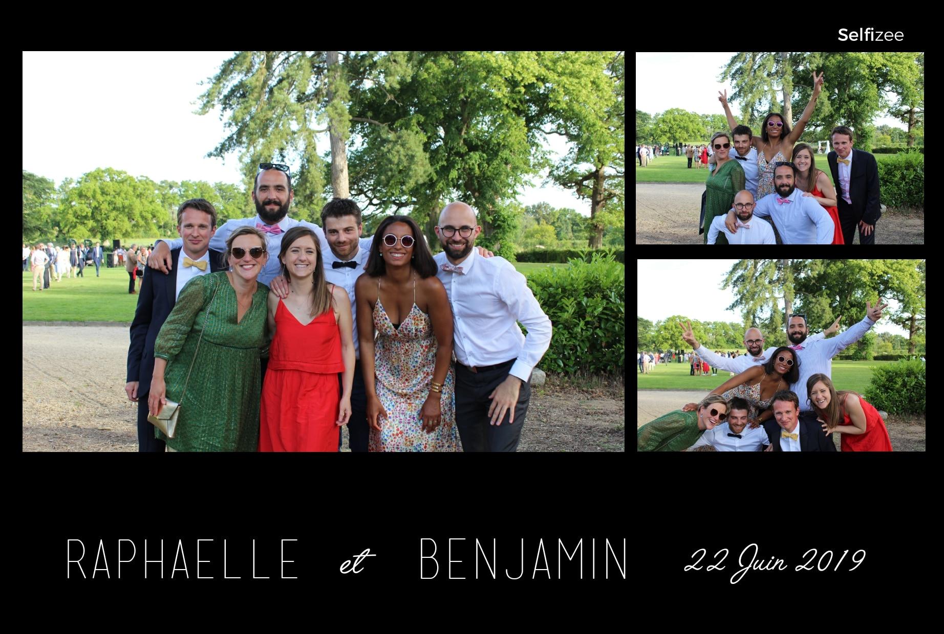 Album photo mariage et animation box photo connectée Angers pour selfies personnalisés