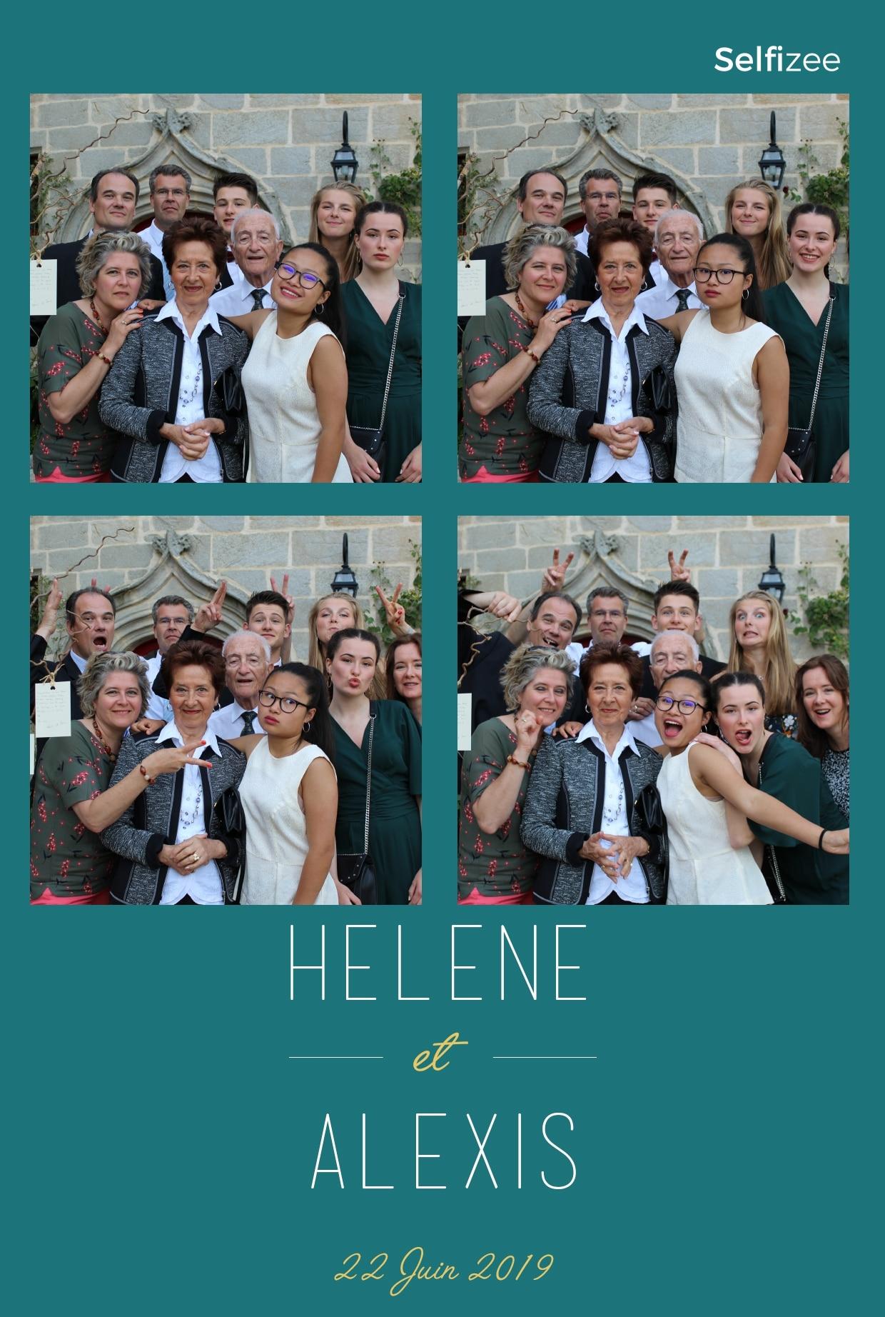 Photo mariage personnalisée avec selfie box à louer à Nantes et en Loire Atlantique pour animation mariage, fête, anniversaire ou baptême
