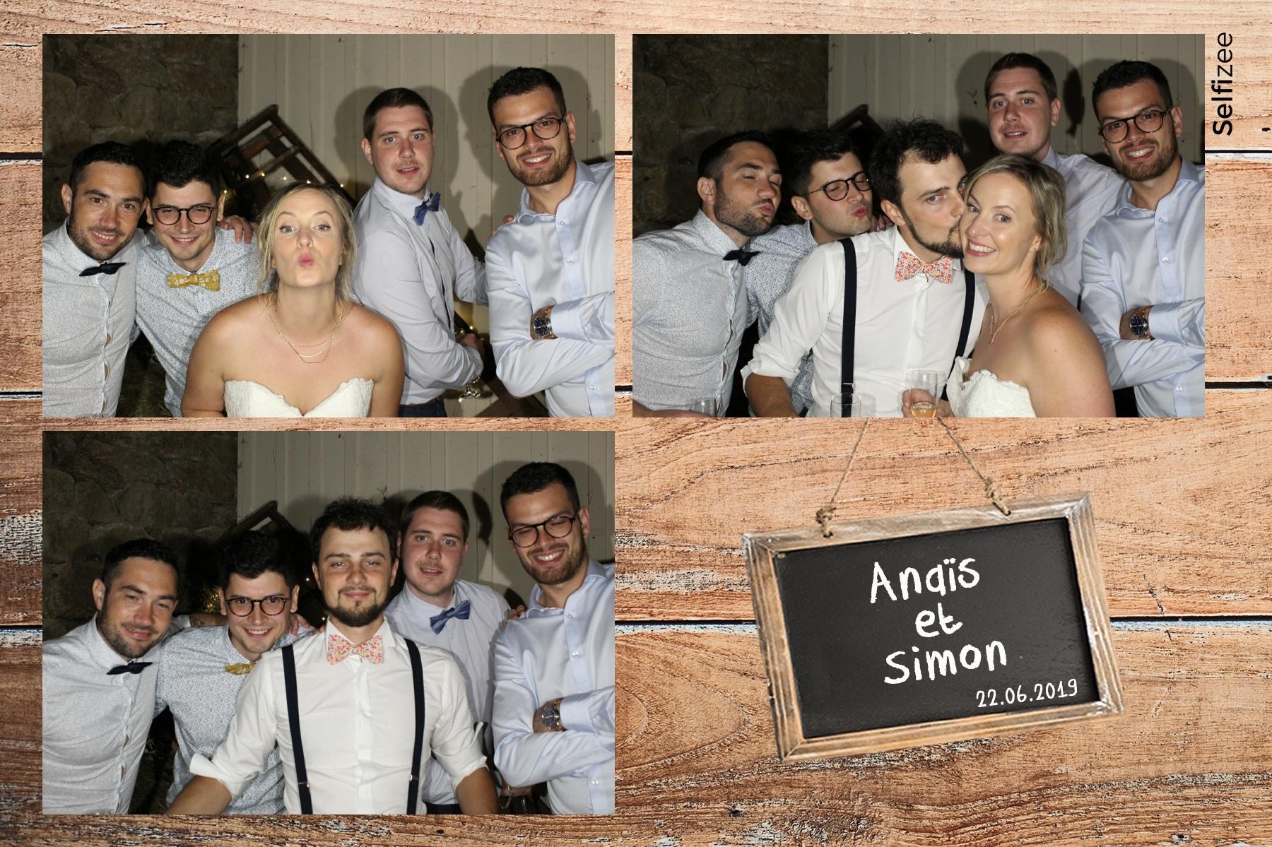 Location photobooth connecté pour animation fête mariage Lyon et dans le Rhône avec impressions photos immédiates
