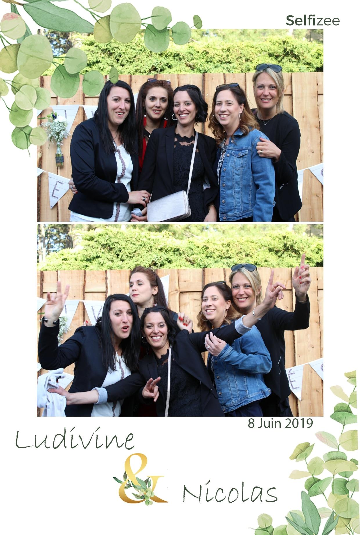 Animation photo personnalisée mariage avec borne selfie à louer à Bourg en Bresse / Ain pour mariage