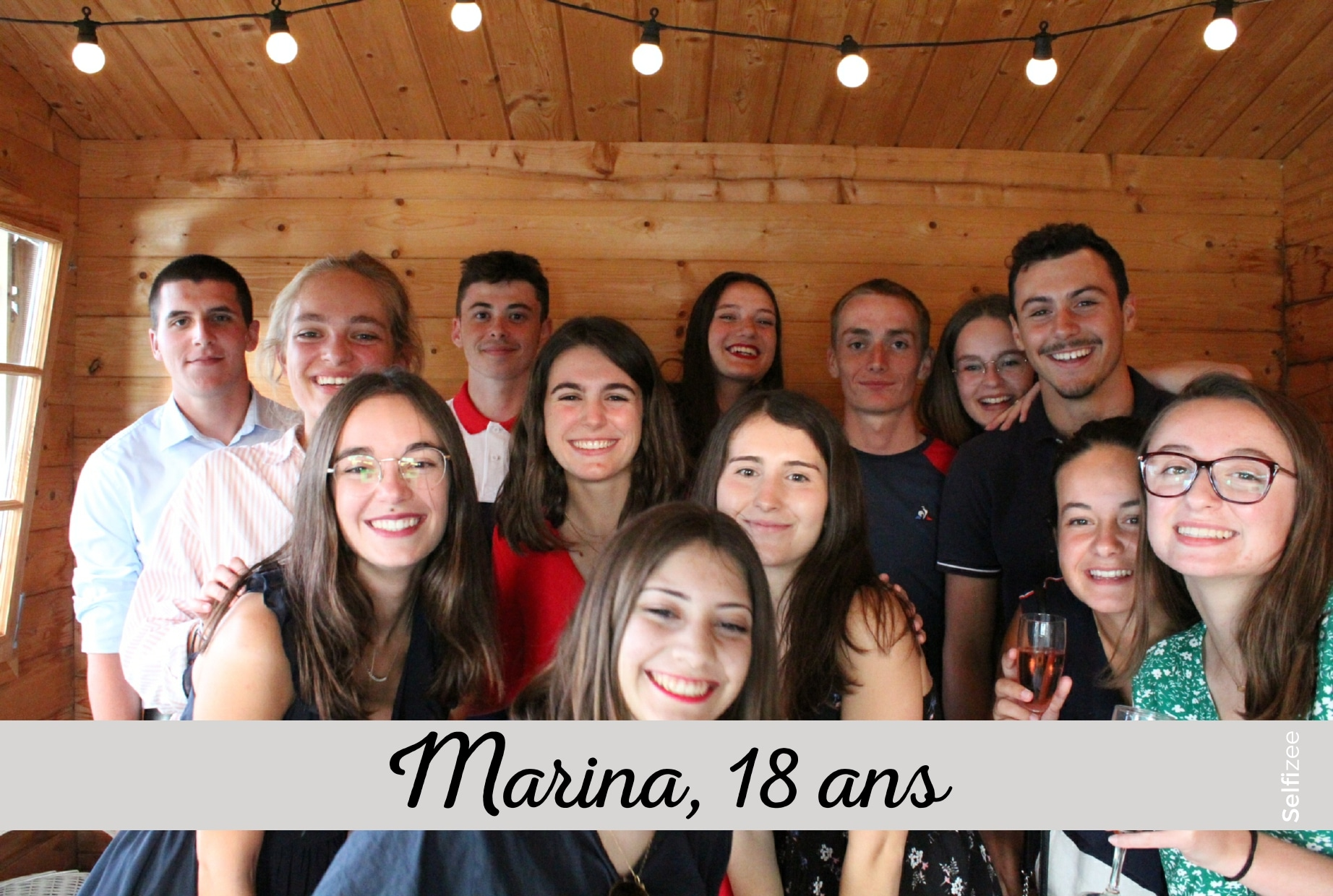 Animation photo anniversaire Le Mans avec borne photo à louer pour selfies personnalisés et imprimés en Sarthe