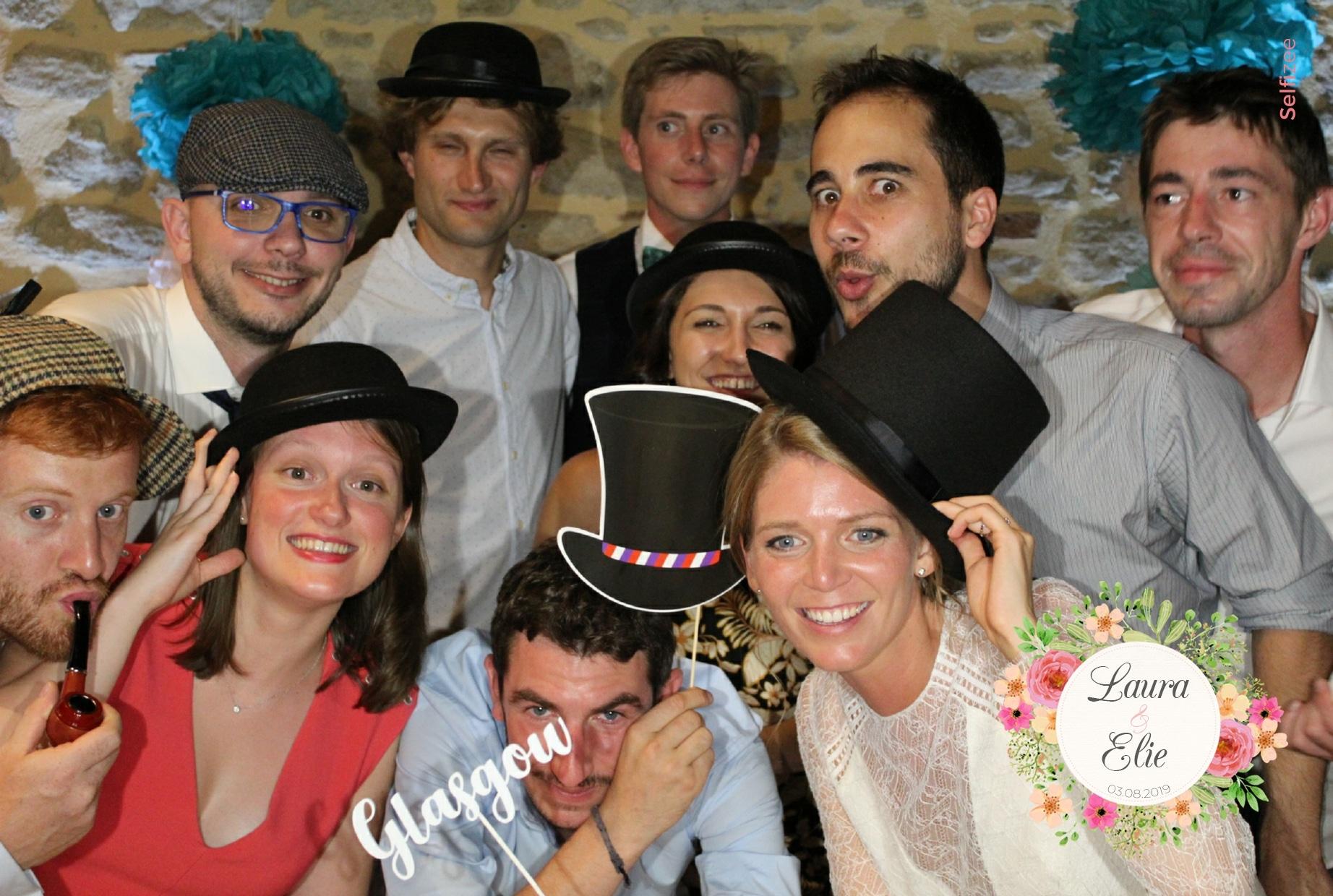 Photo mariage Toulouse - location borne selfie animation fête mariage Toulouse et en Haute Garonne