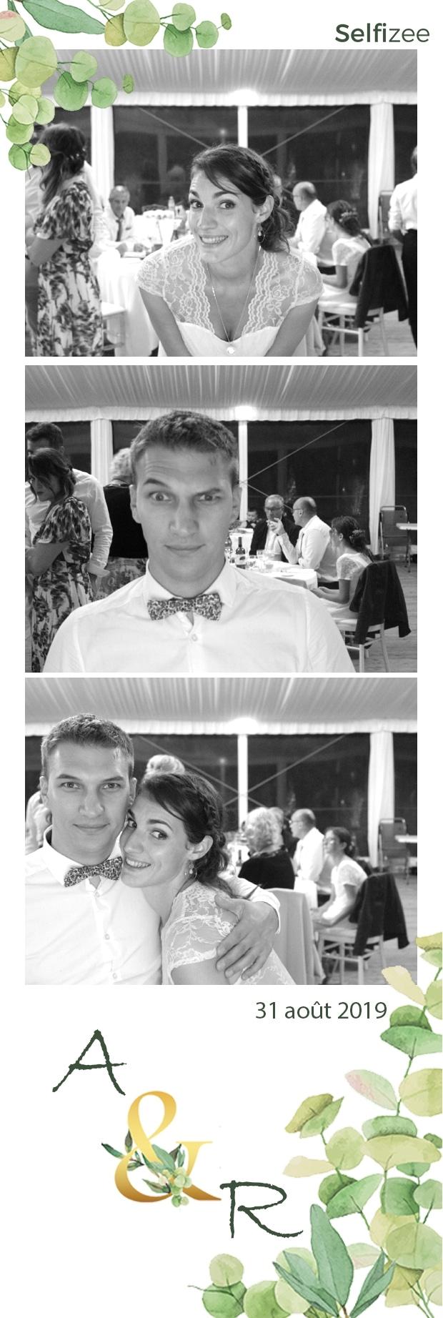 Animation photo mariage à Concarneau avec location borne photo et impressions selfies dans le Finistère pour mariage, fête, anniversaire, soirée
