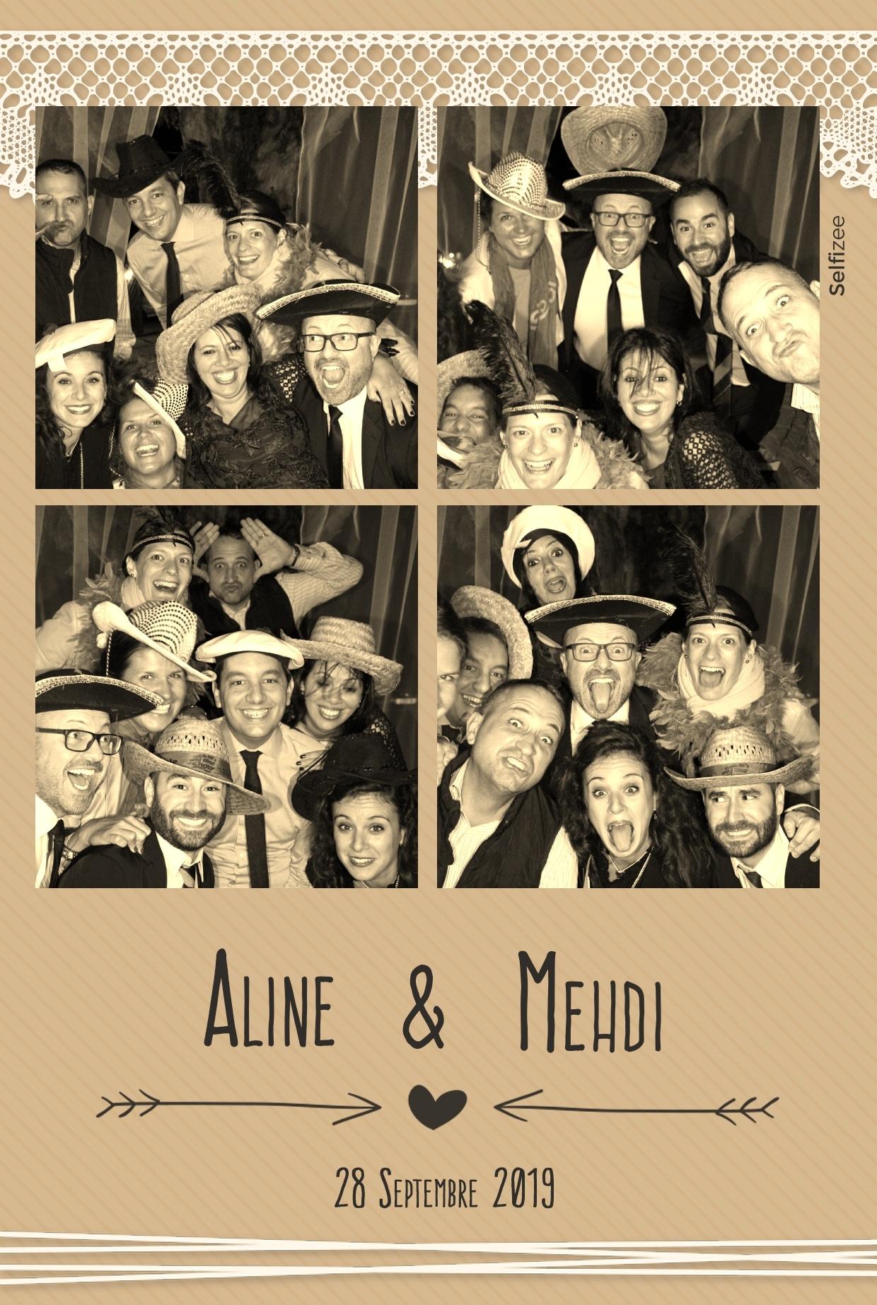Animation photobooth mariage Limoges avec photos personnalisées - location borne selfie connectée Limoges et Haute Vienne pour mariage, anniversaire, soirée, fête, baptême