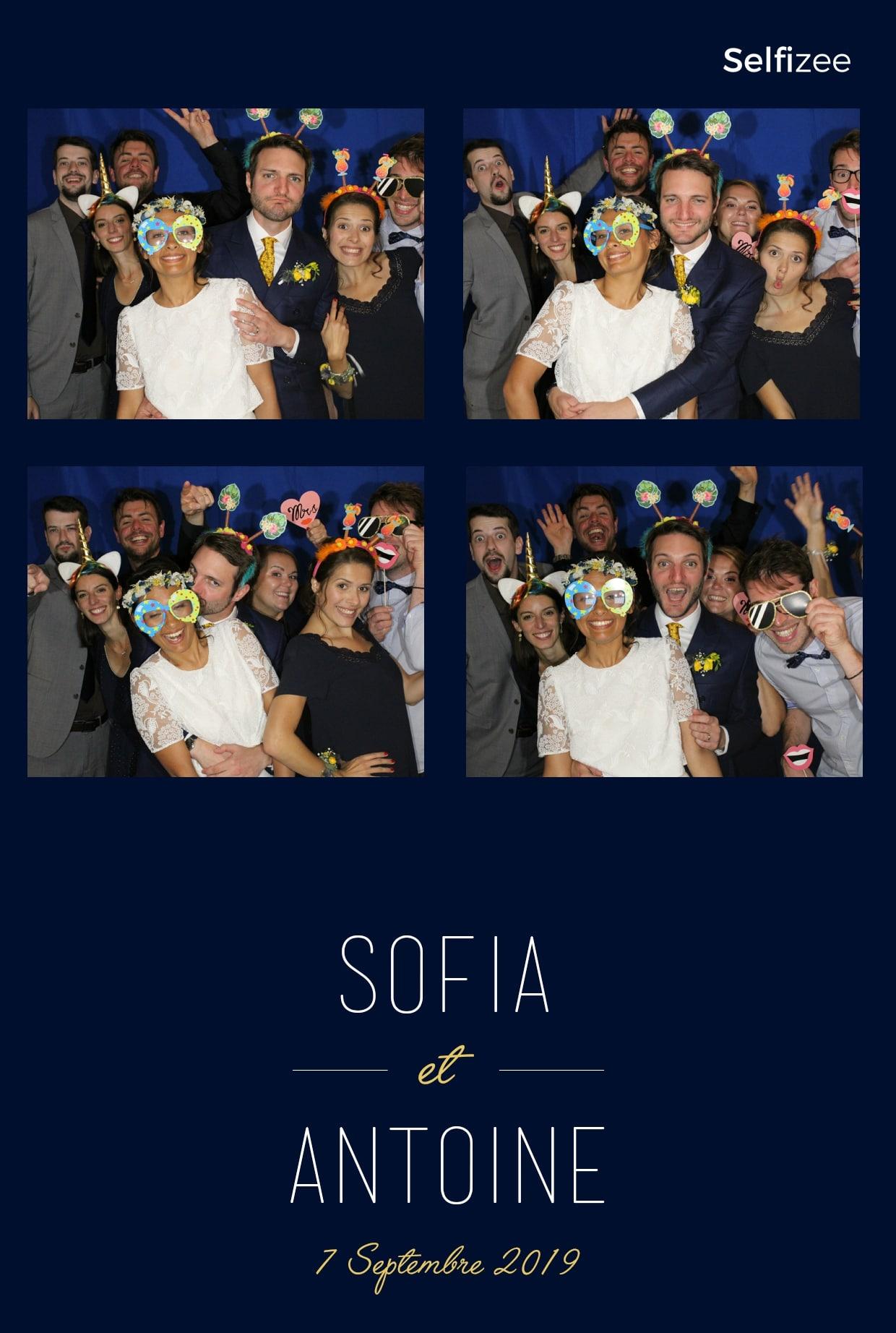 Selfie box et tirage photo mariage à Quimper ou dans le Finistère