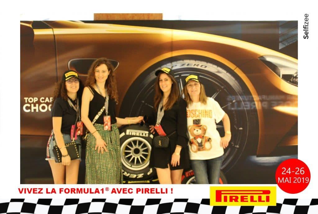 Borne photo selfie Selfizee pour le Grand Prix de F1 de Monaco