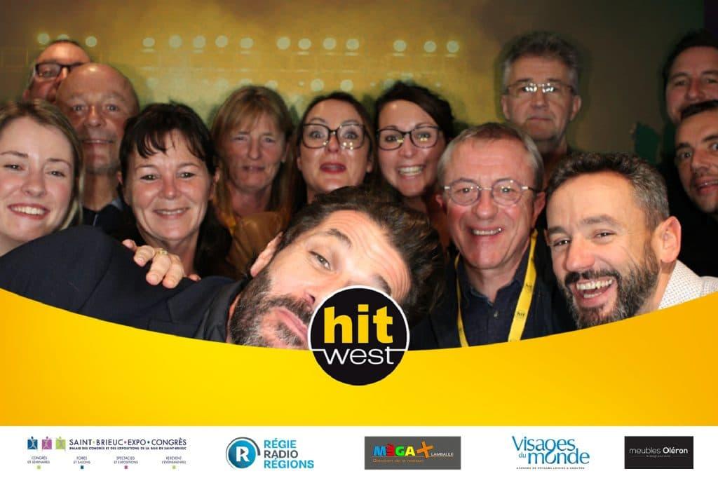 Animation photobooth pour le concert Hit West à Saint-Brieuc en octobre 2019