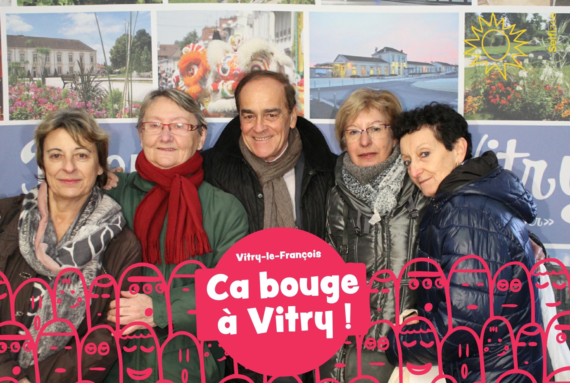 Borne selfie animation photos mairie Vitry le François dans la Marne entre Reims et Saint Dizier