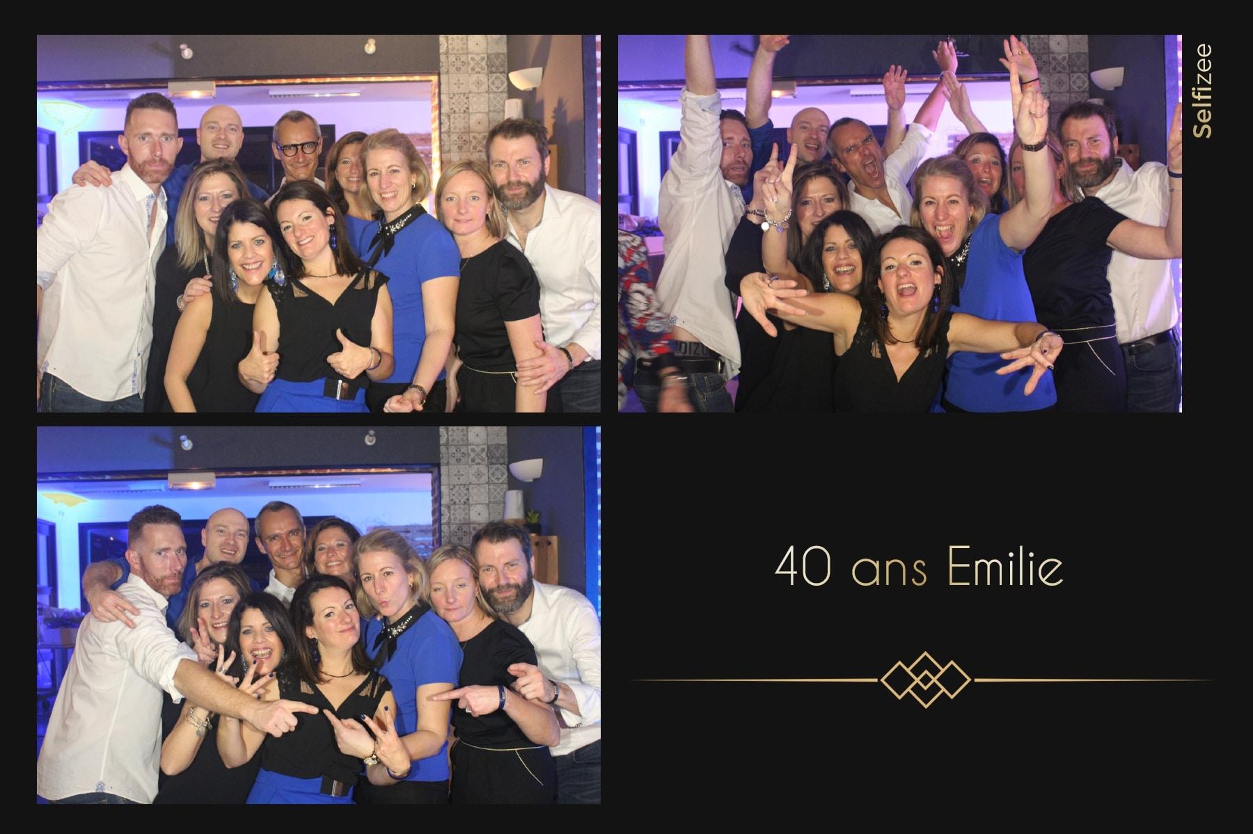 Photo personnalisée anniversaire animation photobooth Lille - borne photo à louer pour selfie anniversaire Lille et dans le Nord