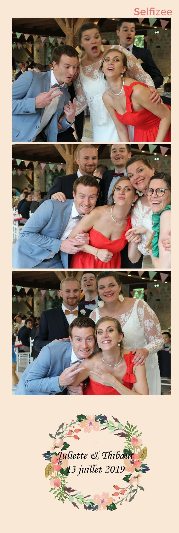 Selfie personnalisé et impressions photos mariage Reims avec photobooth connecté à louer pour mariage à Reims et dans la Marne