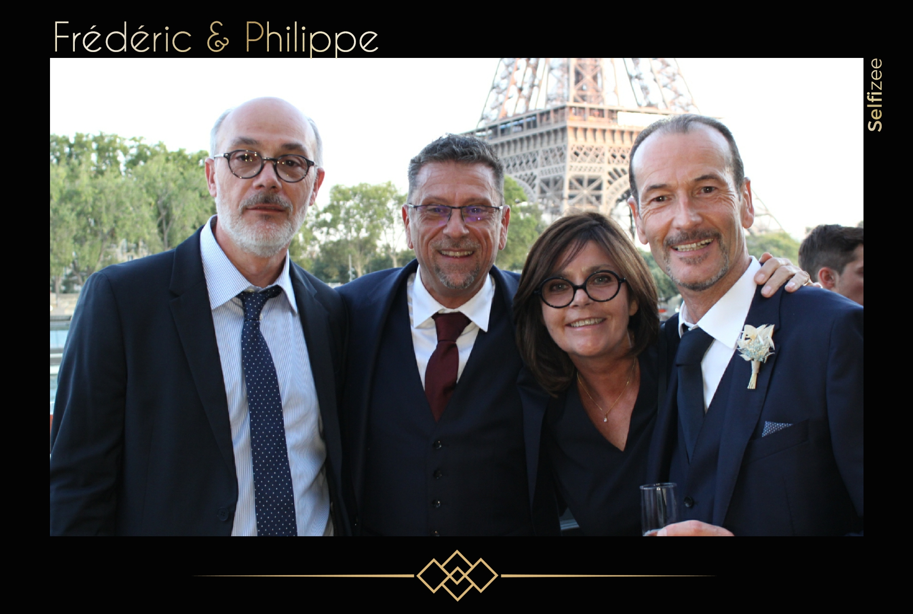 Animation box photo personnalisée mariage Paris - borne photo à louer mariage Paris et en Île de France avec impressions selfies