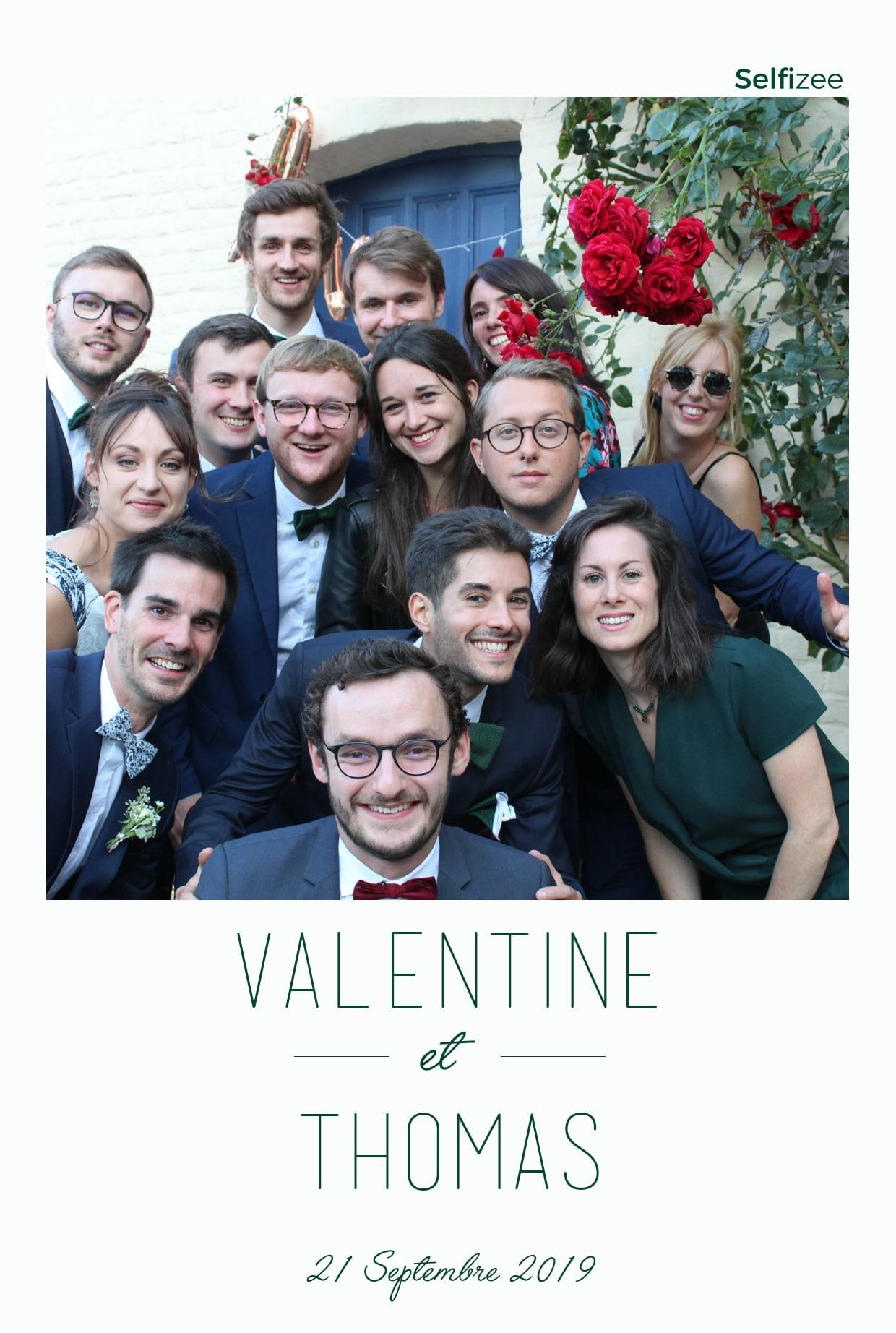 Animation photo mariage Lille avec borne selfie à louer mariage Lille / Nord pour photos personnalisées
