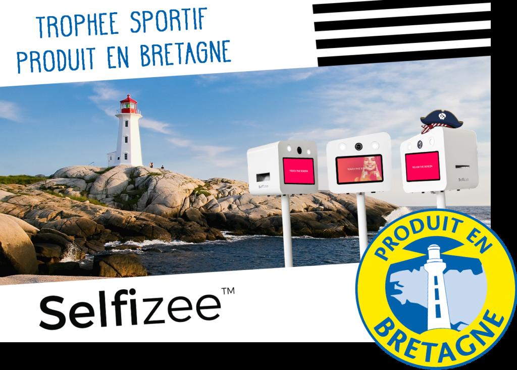3 bornes photo selfie pour animer le trophée sportif Produit en Bretagne à Saint-Malo (35), Bretagne