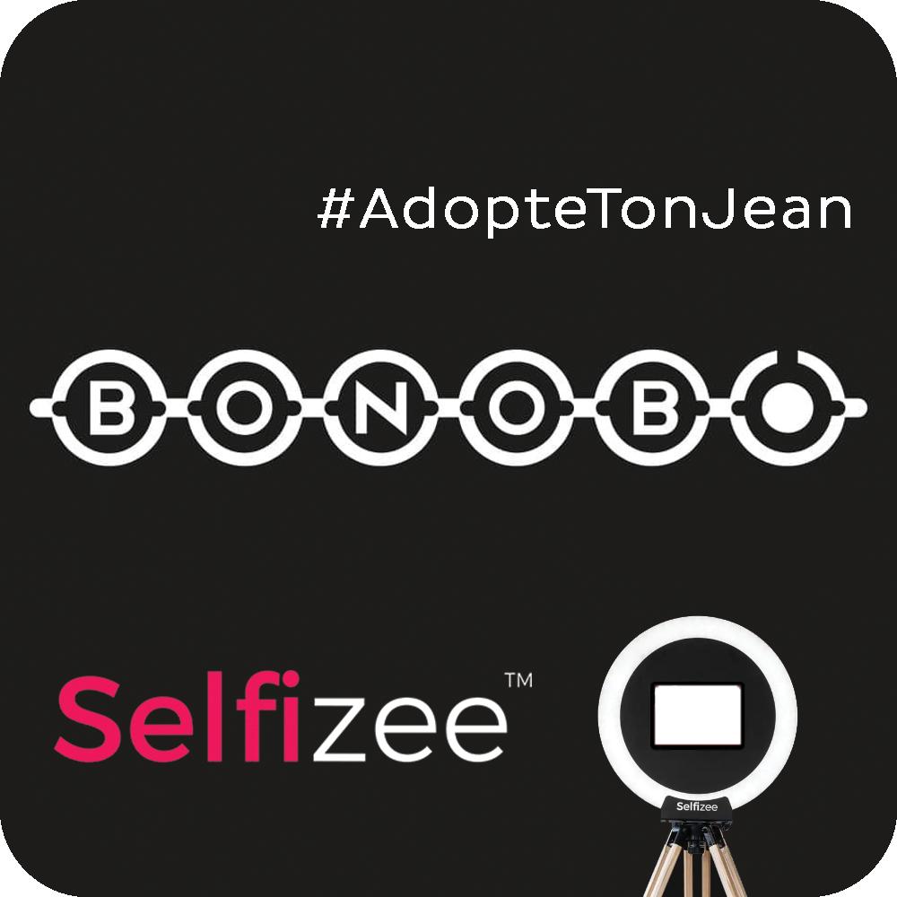 Opération Adopte Ton Jean pour Bonobo par Selfizee