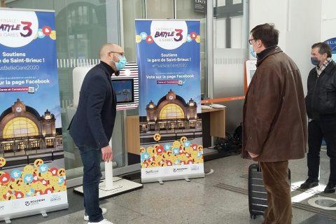 Gare de Saint-Brieuc, Bretagne, finale plus belle gare de France 2021