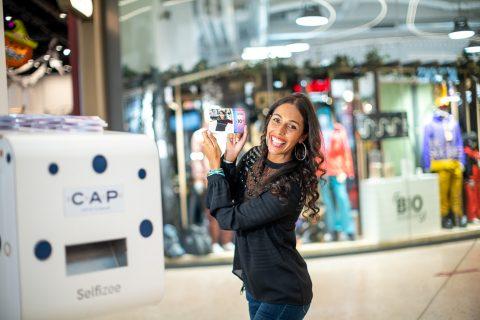 Opération couponing avec nos bornes a selfie pour le centre commercial Cap 3000 à Nice - Provence Alpes Côtes d'Azur