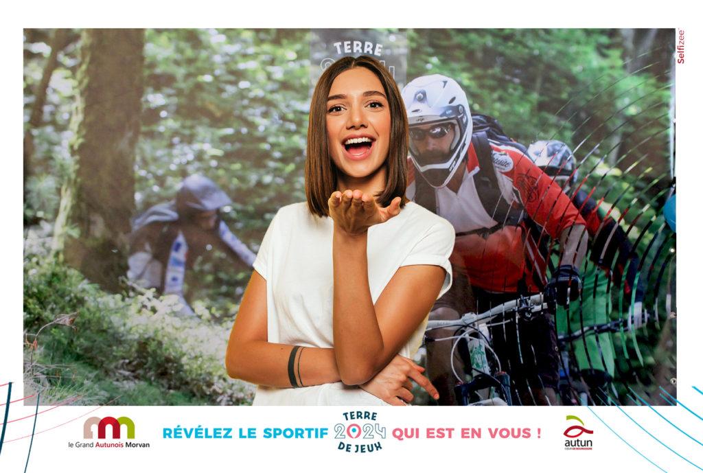 Cadre photo pour animation Photobooth à la foire économique d'Autun (71), Bourgogne-Franche-Comté