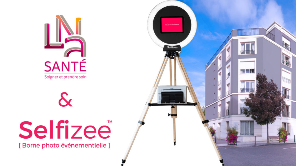Animation borne photo selfie pour la résidence le Verger de Vincennes à Paris, Ile-de-France