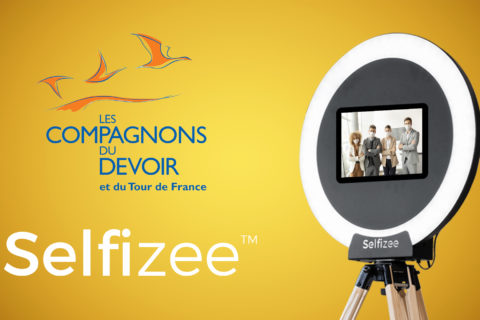 Aninmation Photobooth pour l'association des Compagnons du devoir et du tour de France à Angers (49), Pays-de-la-Loire