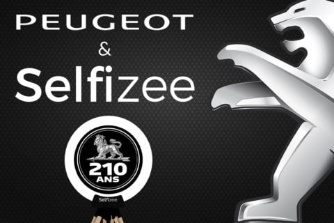 Animation borne photo selfie pour les 210 ans de Peugeot à Lorient (56) et Sélestat (67)